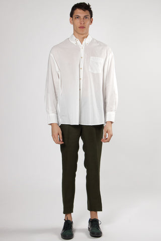 Borrowed BD Shirt white voile