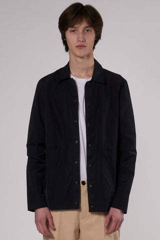 Bureau Overshirt dark navy