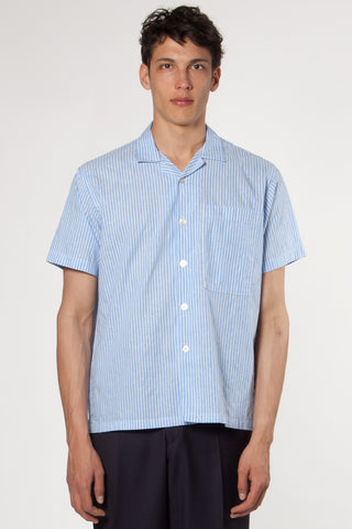 Camp Paisley Shirt light blue