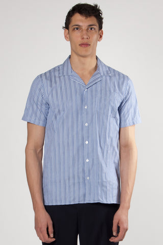 Cave Shirt royal stripe