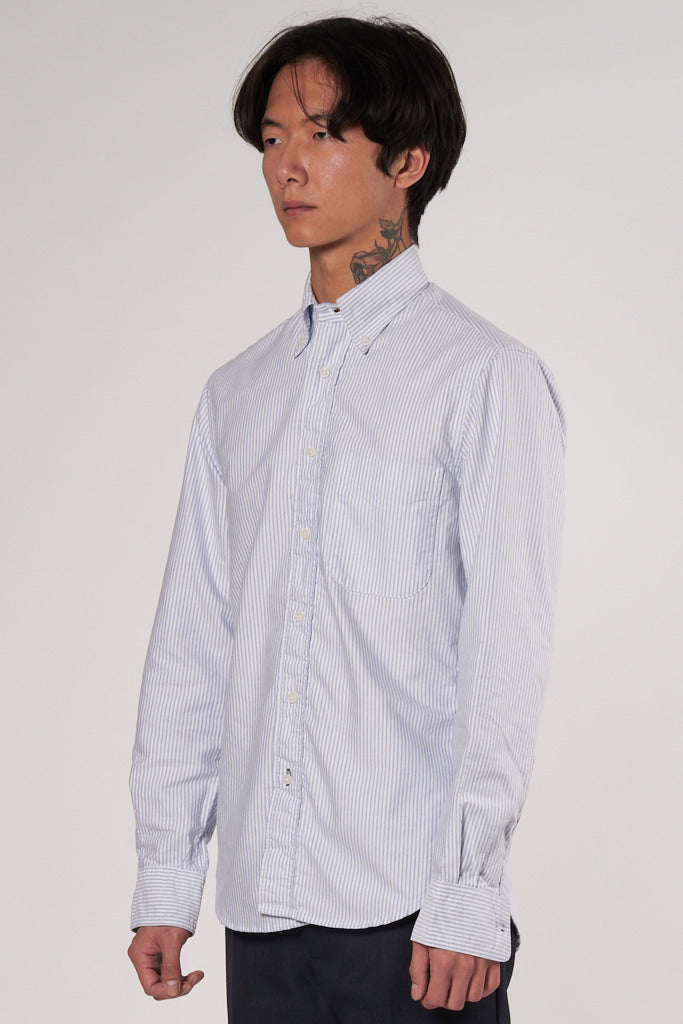 Classic Oxford Shirt blue white stripe