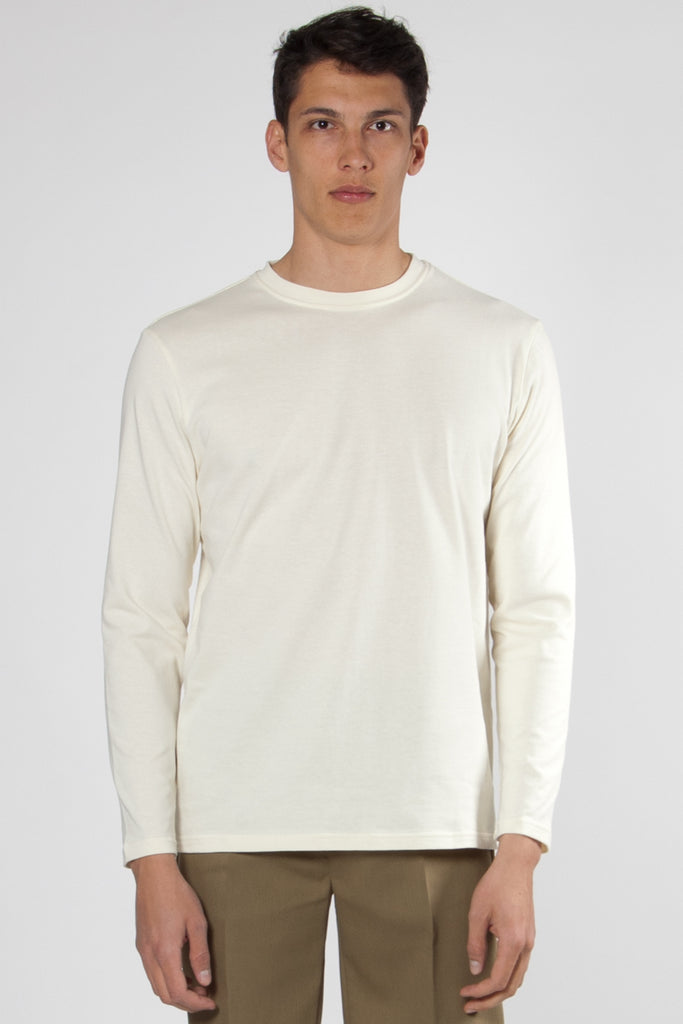 Clin Long Sleeved Tee off white