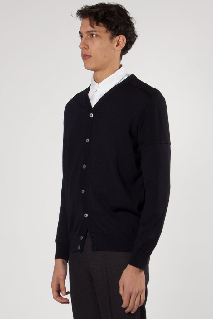 Fatum Cardigan navy blue