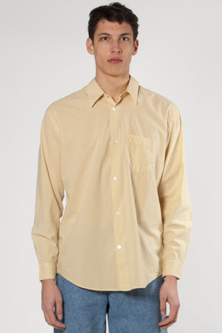 Initial Shirt Parasol Yellow Voile