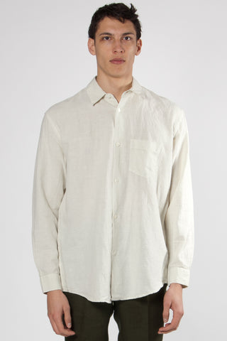Initial Shirt translucent white lime