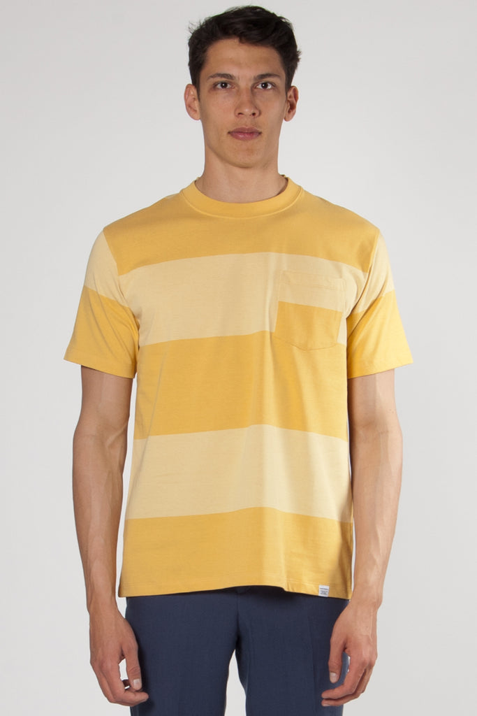 Johannes Block Stripe sunwashed yellow