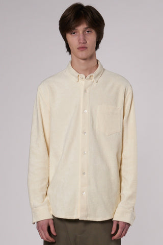 Leo Bathrobe Shirt off white