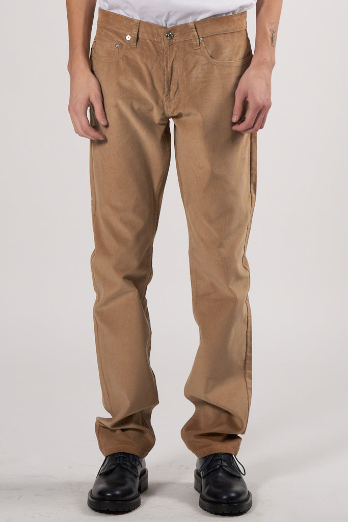 Max 5 Pockets Velvet Pants beige