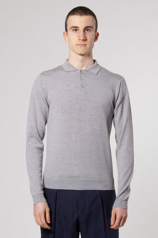 Morten Knit grey melange
