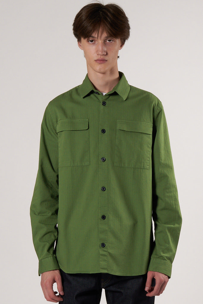 Nation Dress Shirt wineyard green