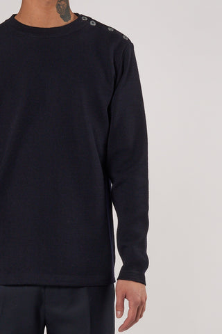 Naval Crew Neck navy blue