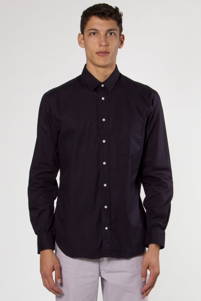 Classic Overdyed Oxford Shirt blue