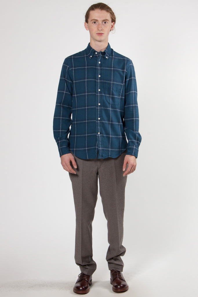 Plaid Hunting Shirt blue