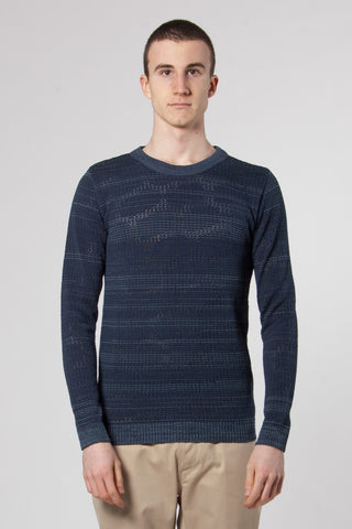 Raster Crew Neck aviator blue