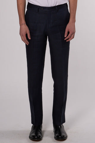 Relaxed Tailored Trousers navy