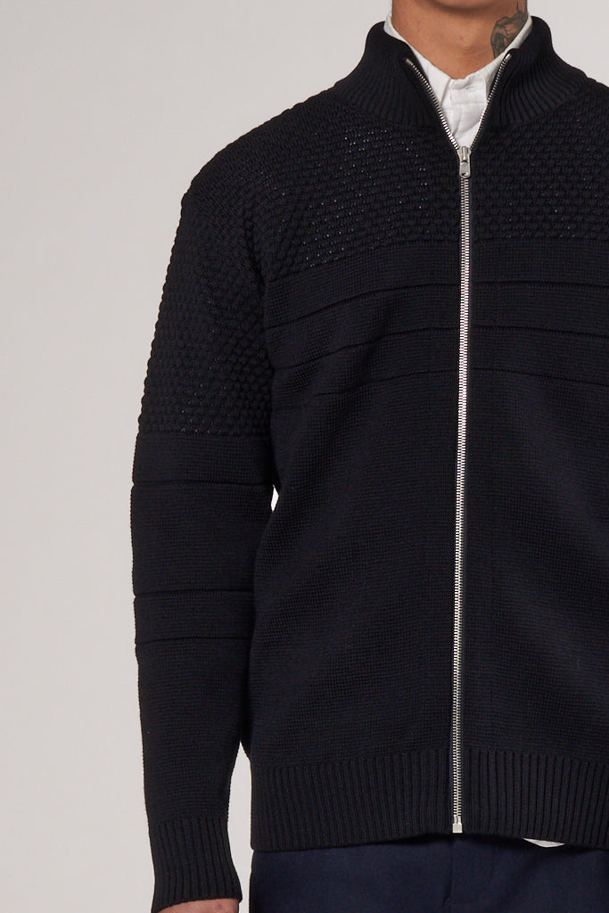 Sentimental Full Zip navy blue