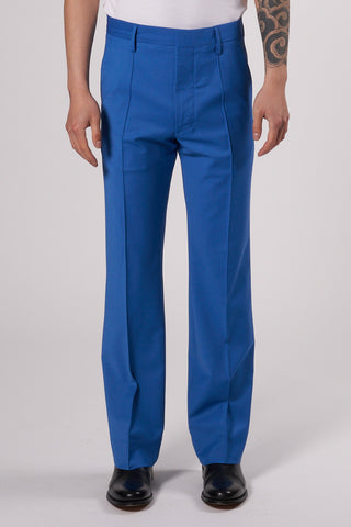 Sharp Trousers Wool electric blue