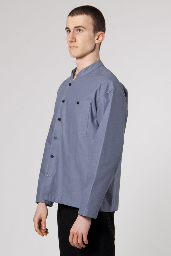 Shirt Jacket Twill copen blue