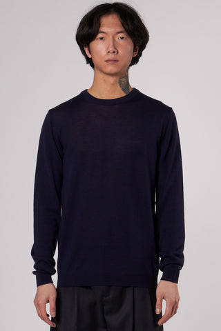 Sigfred Light Merino dark navy