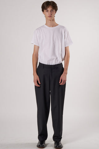 Soft Trousers black/pinstripe