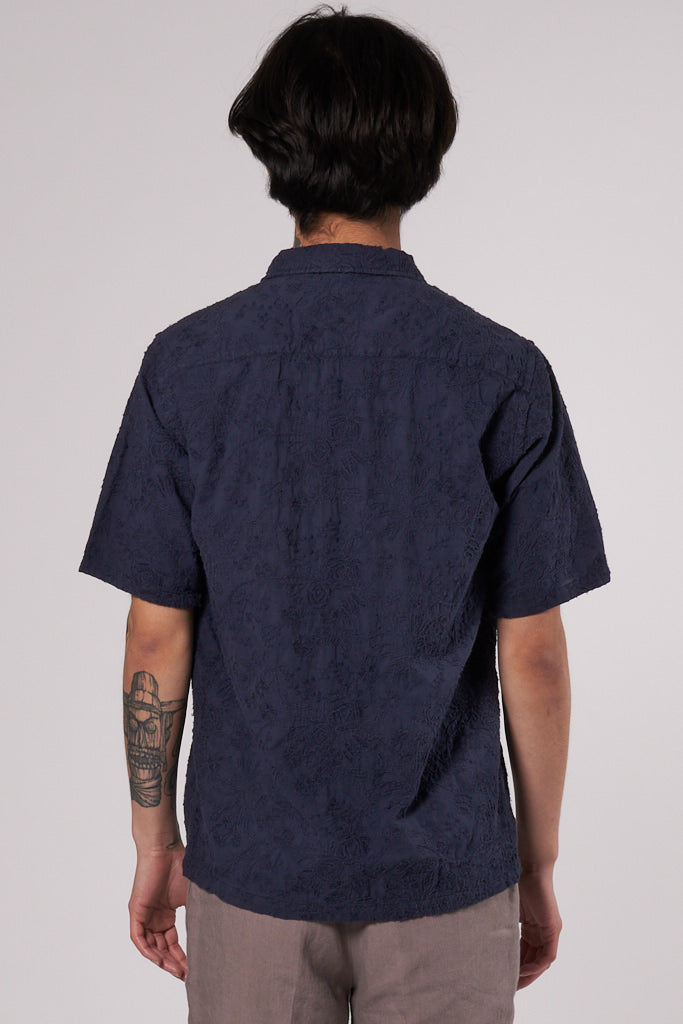 Space Shirt SS dark navy col. 200