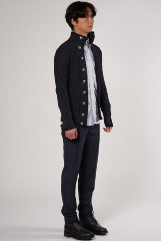 Stark Cardigan navy blue