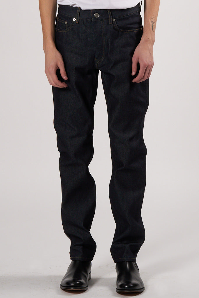 Straight Jeans raw denim