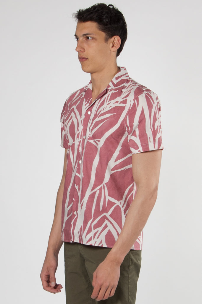 Tahiti Short Sleeved Shirt terracotta