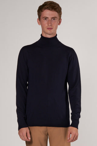 Thadée Turtleneck navy
