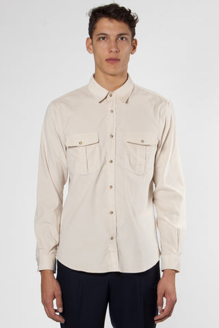 Travelling Shirt light beige