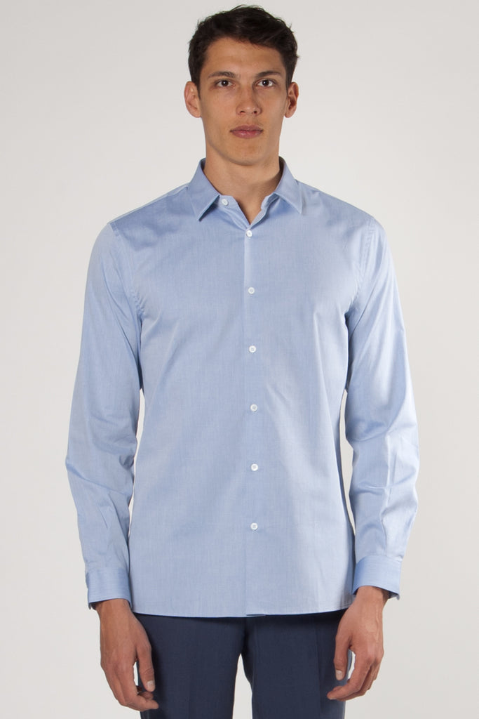 Trocadero French Collar Shirt blue