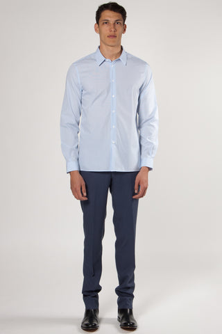 Trocadero French Collar Shirt white/sky