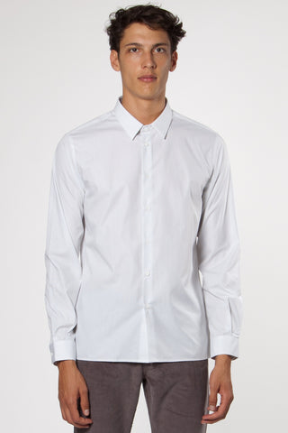 Trocadero French Collar Shirt white