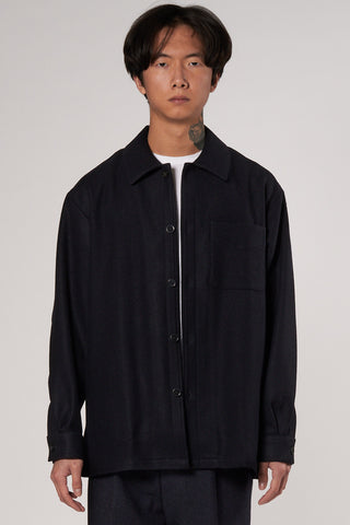 Ulysee Overshirt dark navy