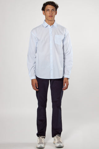 Villain Shirt light blue stripe