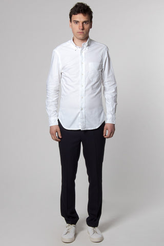White Italian Stallion Oxford Shirt