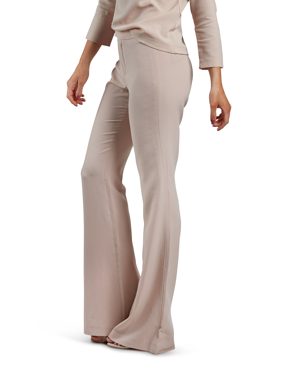 Suit Pants - Nude