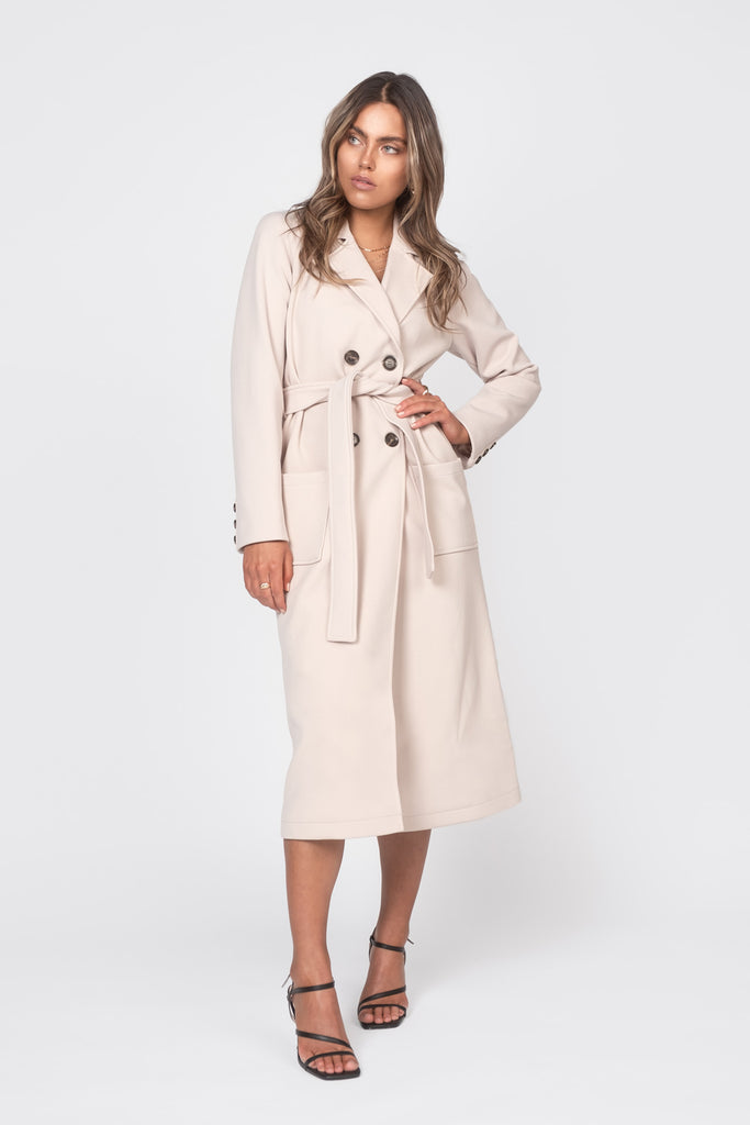 The Spring Coat - Beige