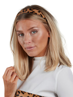 Leather Hairband - Leo