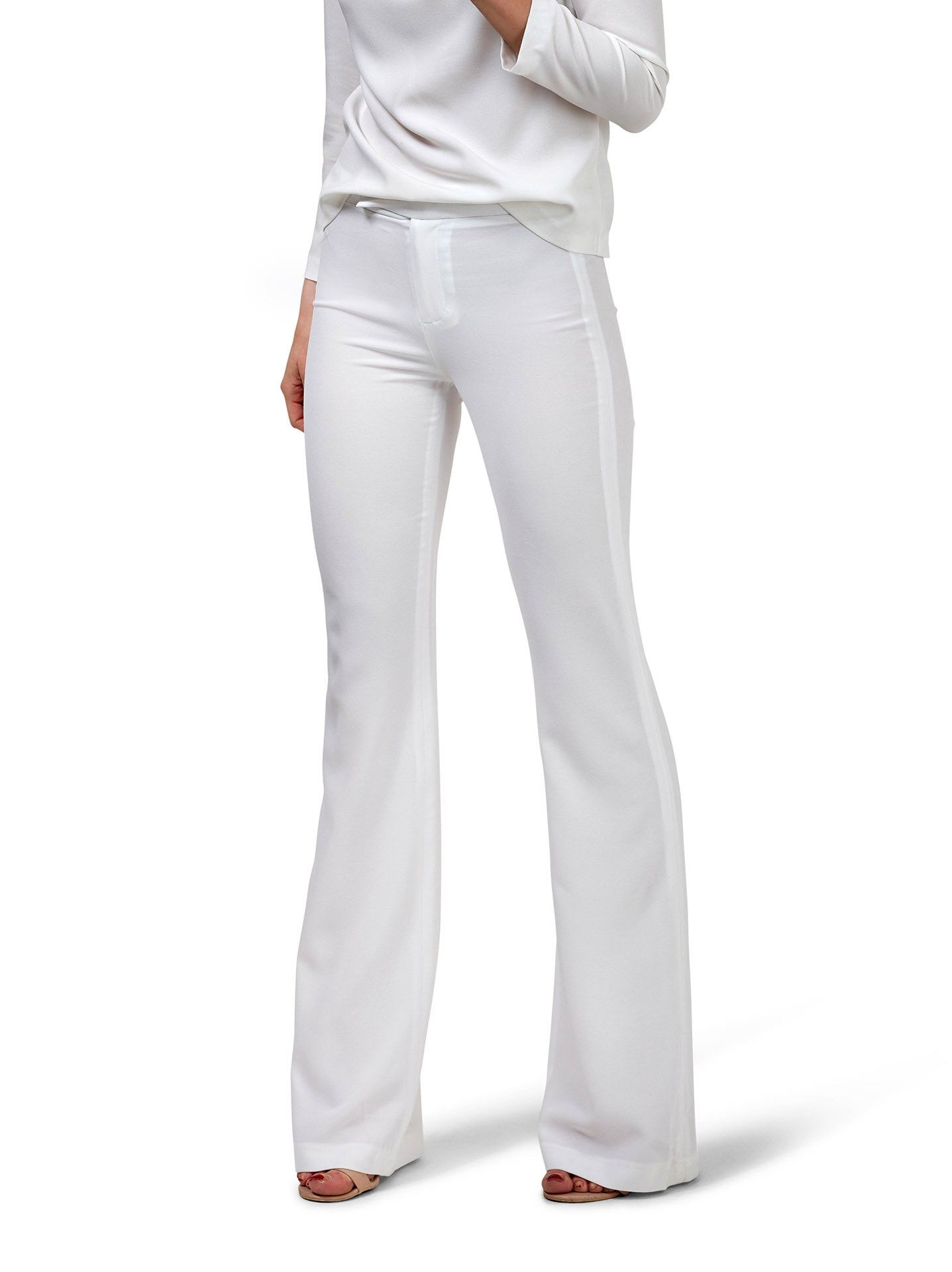 Suit Pants - White