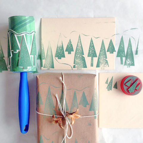 DIY creative Christmas gift wrap party pack co