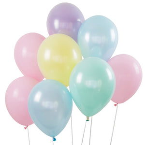 Pastel Balloon Bouquet - 8 Pack - The Party Pack Co