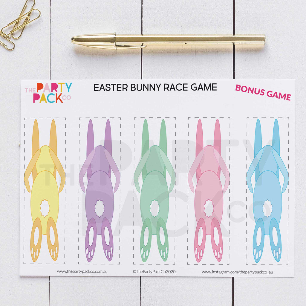 Easter Activity Printable Pack- DIGITAL DOWNLOAD - The Party Pack Co