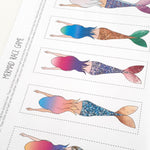 DIY Mermaid Race Game - DIGITAL DOWNLOAD - The Party Pack Co