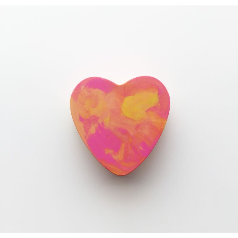 Heart Crayon - 5 pack