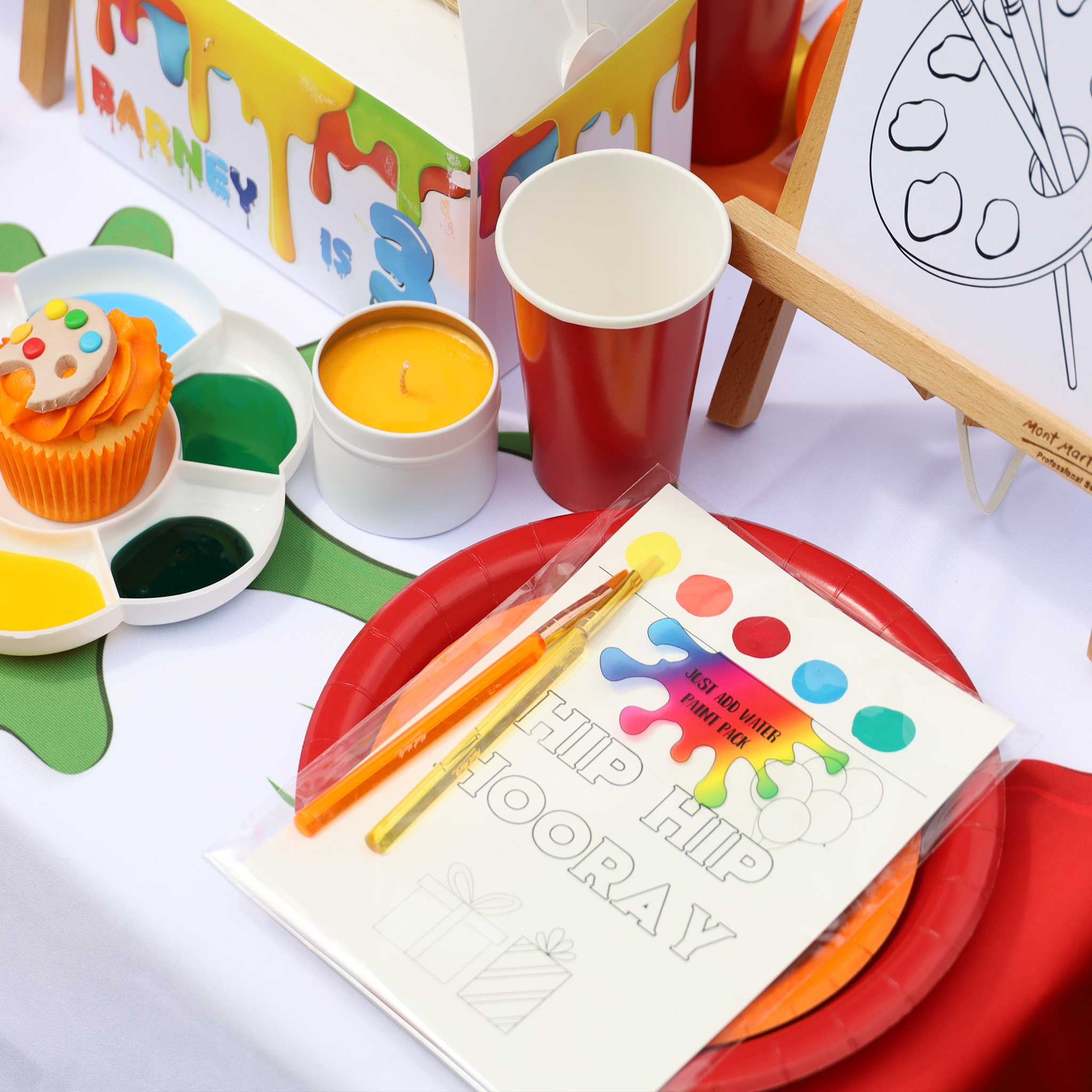 Paint Activity Pack: Just Add Water - The Party Pack Co