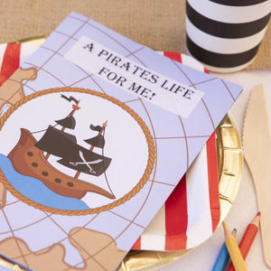 Pirate Party Kids Activity Booklet - The Party Pack Co