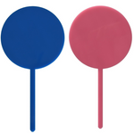 Blue or Pink Write-On Acrylic Cake Topper - The Party Pack Co