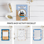 Pirate Party Activity Booklet Bundle Pack- 10 People - The Party Pack Co