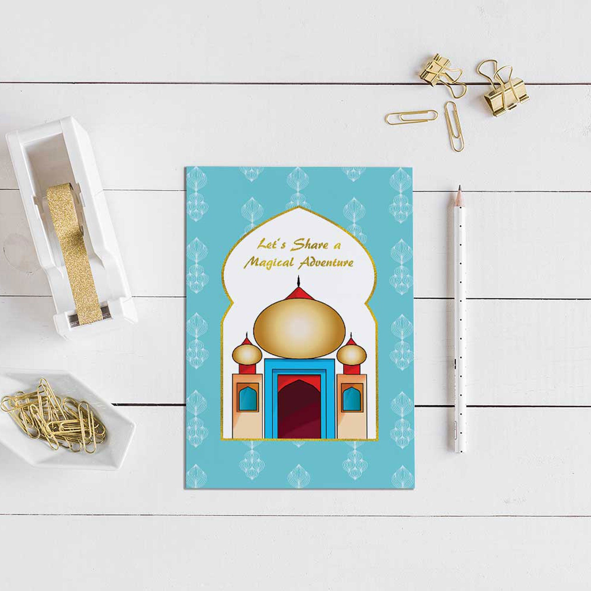 Arabian Nights Activity Booklet - The Party Pack Co